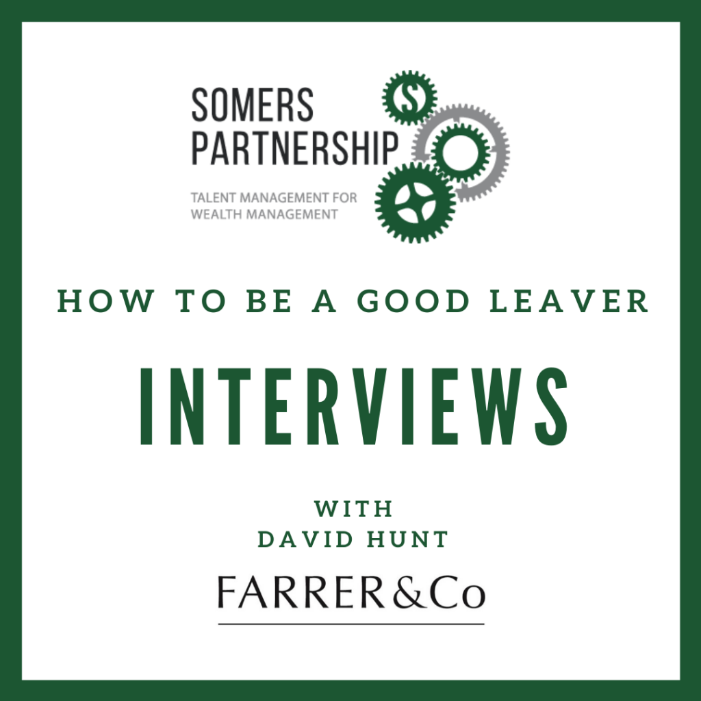 How to be a good leaver - Interviews