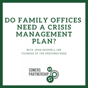 Do family offices need a crisis management plan